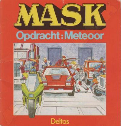 M.A.S.K. M.A.S.K. Book Dutch Opdracht: Meteoor