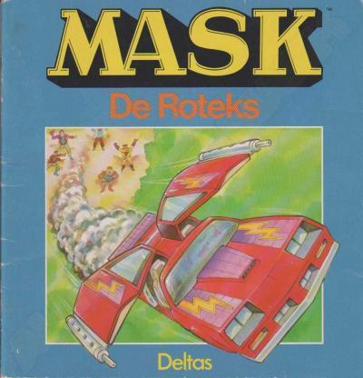 M.A.S.K. M.A.S.K. Book Dutch De Roteks