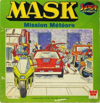 M.A.S.K. M.A.S.K. French book Mission Météore