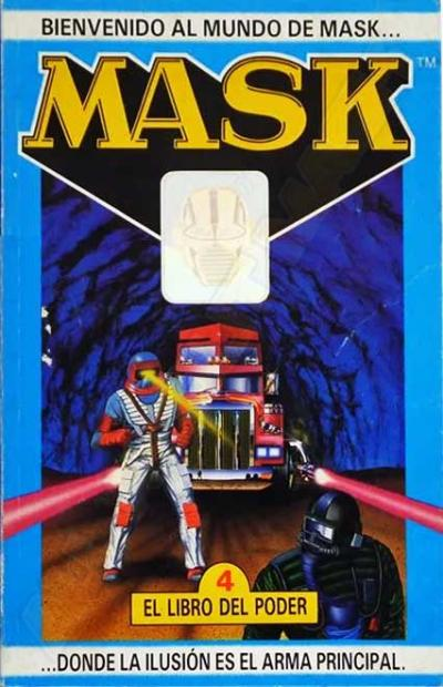 M.A.S.K. M.A.S.K. Spanish book 04 El Libro del Poder