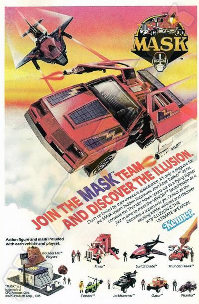 M.A.S.K. M.A.S.K. poster Join the MASK Team and discover the illusion