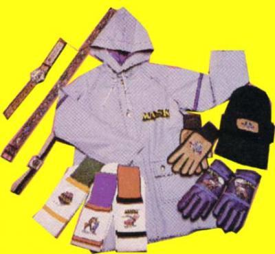 M.A.S.K. MASK Rain jacket, hat, gloves, sockss