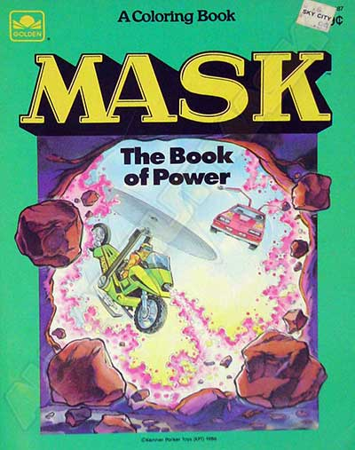 M.A.S.K. M.A.S.K. Coloring book The book of power