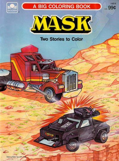 M.A.S.K. M.A.S.K. Coloring book A giant coloring book