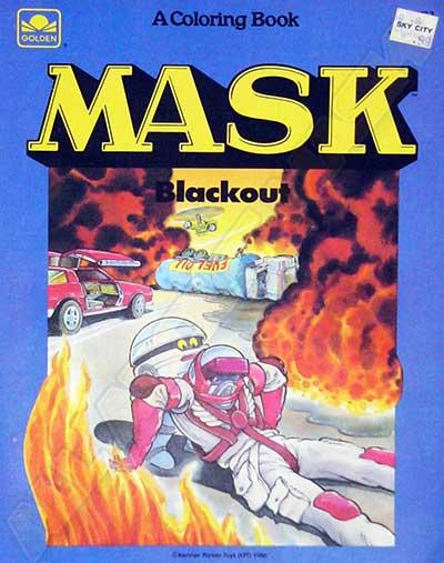 M.A.S.K. M.A.S.K. Coloring book Blackout