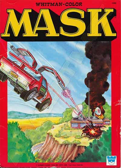 M.A.S.K. M.A.S.K. Coloring book Video Venom WHITMAN-COLOR