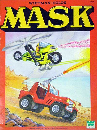 M.A.S.K. M.A.S.K. Coloring book