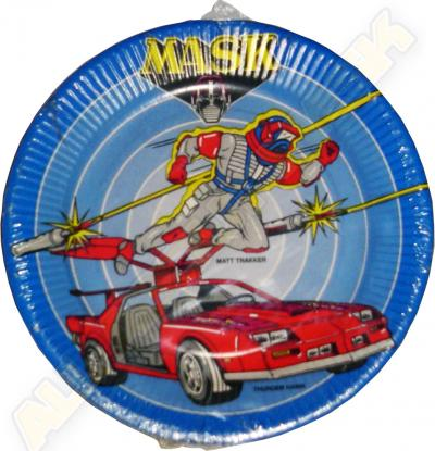 M.A.S.K. M.A.S.K. Paper plate
