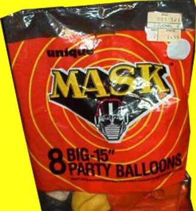 M.A.S.K. M.A.S.K. Party ballons