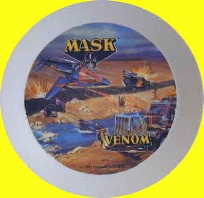 M.A.S.K. M.A.S.K. Plate