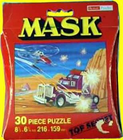 M.A.S.K. M.A.S.K. Puzzle 30 pieces Rhino & Switchblade