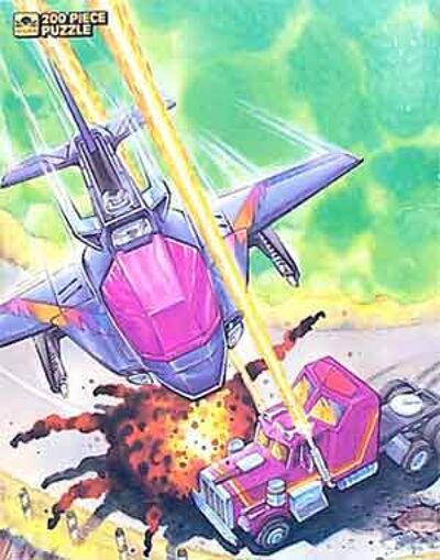 M.A.S.K. M.A.S.K. Puzzle Rhino & Switchblade