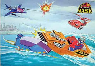 M.A.S.K. M.A.S.K. Puzzle Thunderhawk, Gator, Piranha & Switchblade