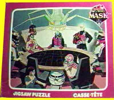 M.A.S.K. M.A.S.K. Jigsaw puzzle Team MASK