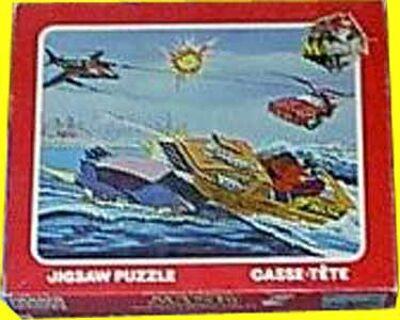 M.A.S.K. M.A.S.K. Jigsaw puzzle Thunderhawk, Gator, Piranha & Switchblade