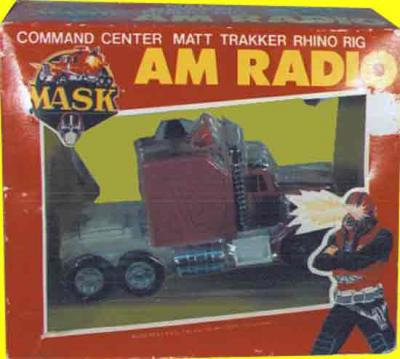 M.A.S.K. M.A.S.K. Rhino AM radio US version