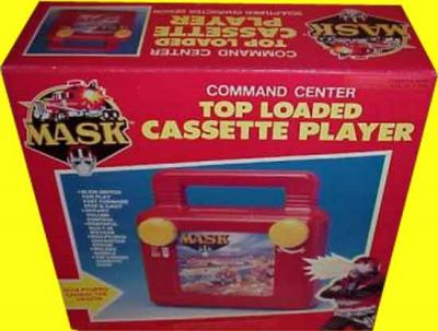M.A.S.K. M.A.S.K. Top loaded cassette player