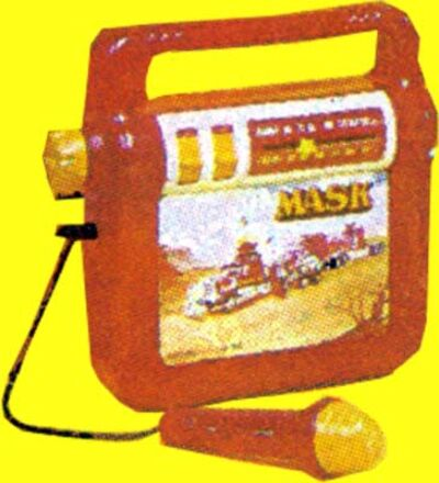 M.A.S.K. M.A.S.K. Radio with microphone