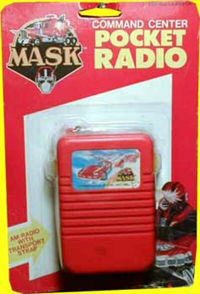 M.A.S.K. M.A.S.K. Pocket radio