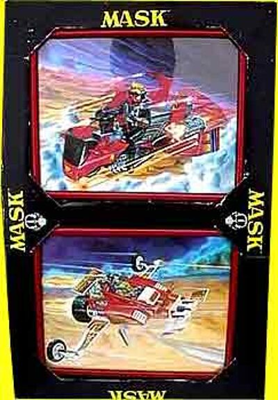 M.A.S.K. M.A.S.K. Framed pictures Firefly & Vampire