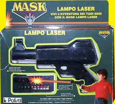 M.A.S.K. M.A.S.K. Lampo Laserfrom Italy
