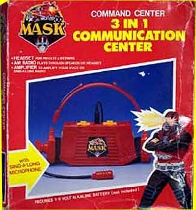 M.A.S.K. M.A.S.K. 3 in 1 communication center