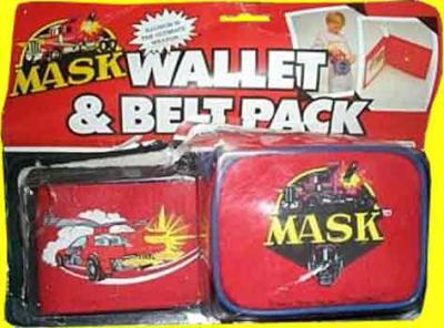 M.A.S.K. M.A.S.K. Wallet & belt pack