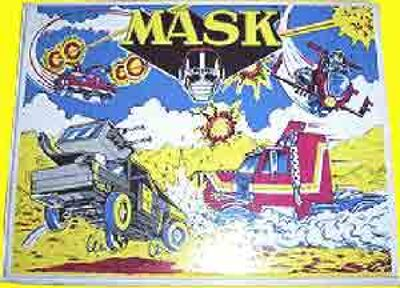 M.A.S.K. M.A.S.K. Case for tapes