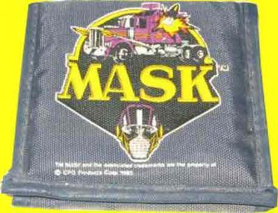 M.A.S.K. M.A.S.K. Wallet grey MASK logo