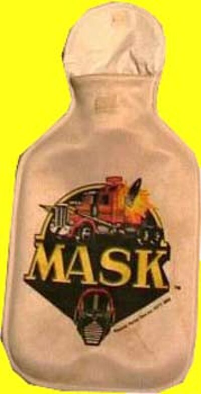 M.A.S.K. M.A.S.K. Hot-water bottle