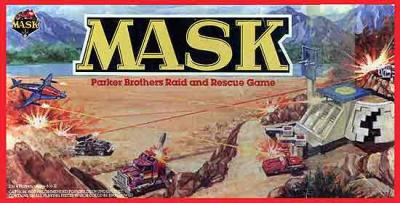 M.A.S.K. M.A.S.K. Boardame US