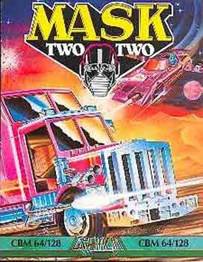 M.A.S.K. M.A.S.K. Computergame C64 #2