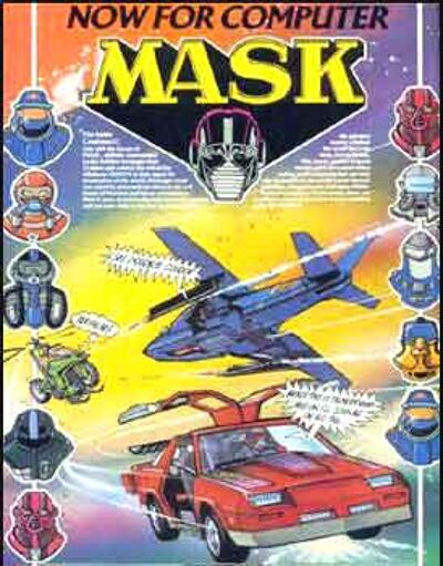 M.A.S.K. M.A.S.K. Computergame C64 #1