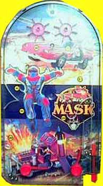 M.A.S.K. M.A.S.K. Mini Pinball game