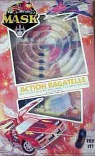 M.A.S.K. M.A.S.K. Action Bagatelle game