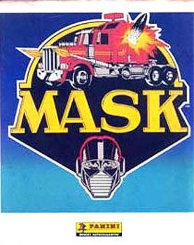 M.A.S.K. M.A.S.K. Panini Sticker album france