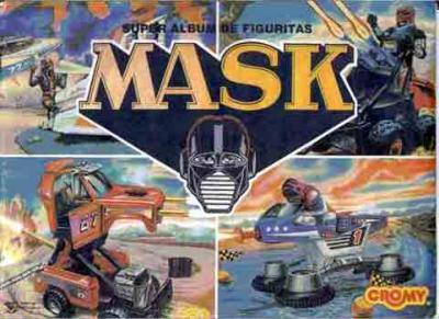 M.A.S.K. M.A.S.K. Panini Sticker album Agentina