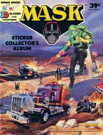 M.A.S.K. M.A.S.K. Sticker album US 3D