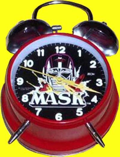 M.A.S.K. M.A.S.K. Alarm clock red