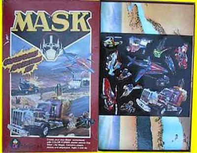 M.A.S.K. M.A.S.K. Colorform