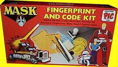 M.A.S.K. M.A.S.K. Fingerprint ans code kit