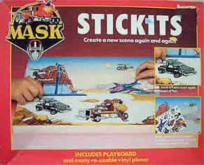 M.A.S.K. M.A.S.K. Stickits