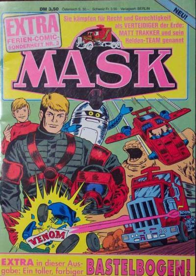 M.A.S.K. M.A.S.K. German holiday special comic no. 3