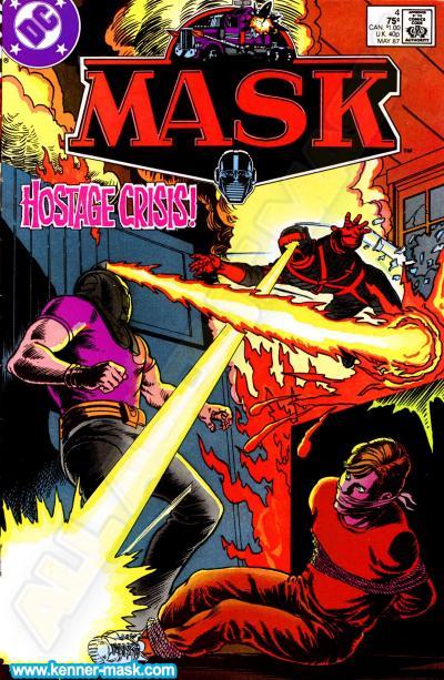 M.A.S.K. M.A.S.K. DC comic 1987 #4/9 Matt Trakker Outlaw