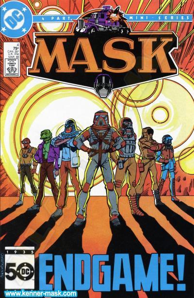 M.A.S.K. M.A.S.K. DC comic 1985 #3/4 The Family Jewels