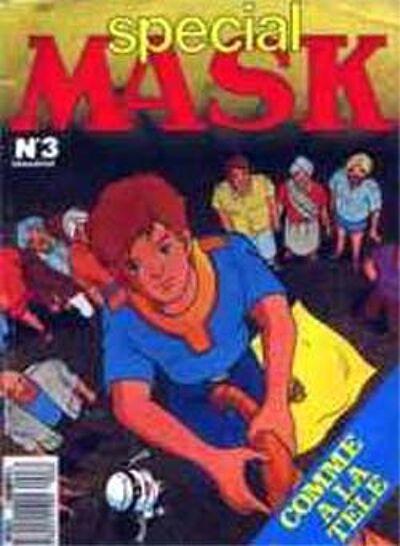 M.A.S.K. M.A.S.K. France special comic no. 3