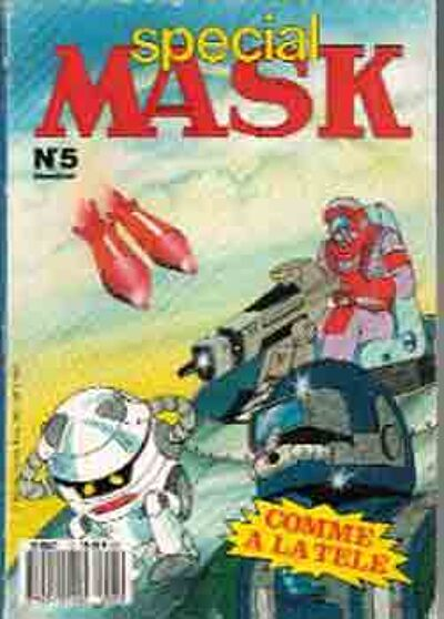 M.A.S.K. M.A.S.K. France special comic no. 5