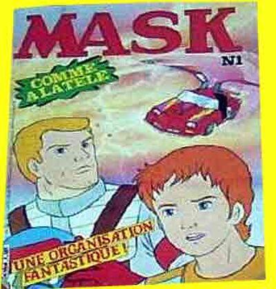 M.A.S.K. M.A.S.K. France comic no. 1