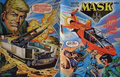 M.A.S.K. M.A.S.K. UK comic No. 43 - 06/02/1988