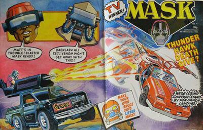 M.A.S.K. M.A.S.K. UK comic No. 04 - 06/12/1986